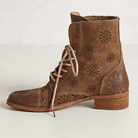 Dahlia Punched Boots