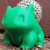 Bulbasaur 3D Printed Planter Multiple Sizes Available!