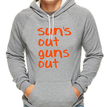 Suns Out Guns Out , hoodie for men, hoodie for women, cotton hoodie on Size S-3XL heppy hoodied.