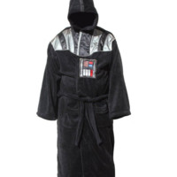 Star Wars Vader Suit Fleece Robe