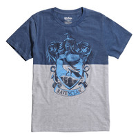 Harry Potter Ravenclaw Crest Split T-Shirt