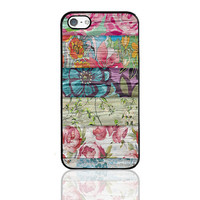 Floral iPhone Case,Flowers iPhone 5 Case,iPhone 4s Floral Case,Art iPhone Case,Floral Print,Printed Floral Case,iPhone 5c Case,