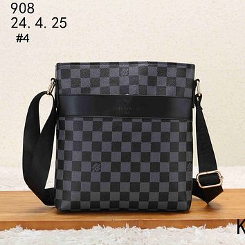 LV 2018 new trend men's shoulder bag diagonal bag handbag briefcase #4