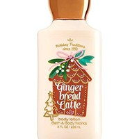 Bath & Body Works GINGERBREAD LATTE Body Lotion 8 oz