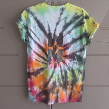 Walk The Moon Tie Dyed Band Tee Shirt