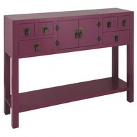 NEW! Rama  Sita Plum Console Table|Console Tables|Tables|French Bedroom Company