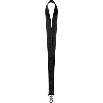 Supreme: Nylon Lanyard - Black