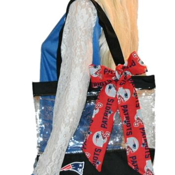 Patriots Clear Tote