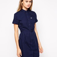 Fred Perry Spotty Shirt Dress