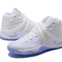 Nike Kyrie Irving 2 White Basketball Shoe
