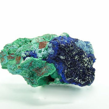 Natural Azurite Chrysocolla Malachite Raw Mineral Specimen Morenci Arizona