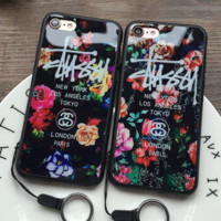 Stussy fashion iPhone Phone Cover Case For iphone 6 /6s 6plus/ 6s-plus 7/ 7plus