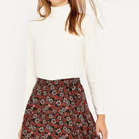 Urban Outfitters Flippy 70s Floral Wrap Skirt - Urban Outfitters