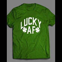 LUCKY AF ST. PATTY'S DAY T-SHIRT