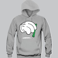 Cocaine Mickey Hands Unisex Hooded Sweatshirt Funny and Music
