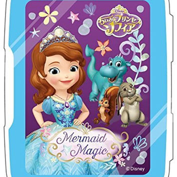 Nintendo and Disney Official Kawaii 3DS Game Card Case8 -Sofia the First Mermaid Magic-