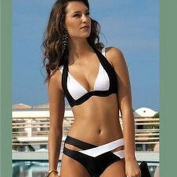 Summer New Arrival Swimsuit Hot Beach Hot Sale Swimwear Sexy Black Ladies Bikini [4914891780]