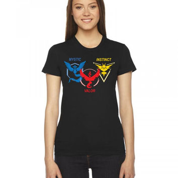 POKEMON GO TRIO TEAM Women's Tee