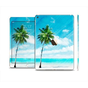 The Paradise Beach Palm Tree Skin Set for the Apple iPad Air 2