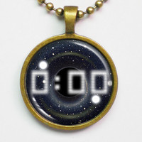 Black Hole Necklace - Time Stops by FantasticDIY