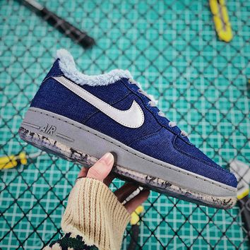 Nike Air Force 1 Pinnacle Qs Wolf Af1 Low Fashion Shoes - Best Online Sale