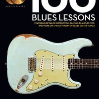 100 Blues Lessons - Guitar Lesson Goldmine Series (Book & CD)