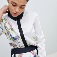 Ted Baker Crissia Shirt in High Grove Print at asos.com