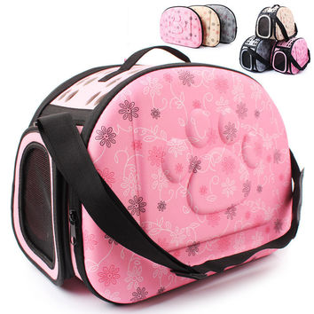 Pet Small Dogs and Cats Soft Portable Folding Portable Travel Bag