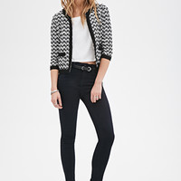 Two-Tone Textured Jacket