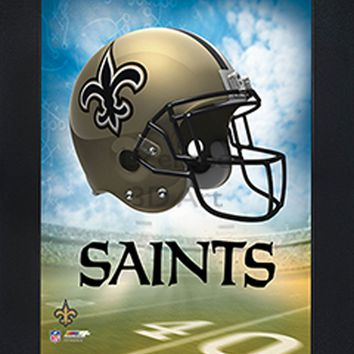 New Orleans Saints | 3D Art | LED Back Lighting | Framed | NFL