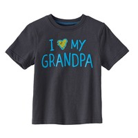 Jumping Beans ''I Love My'' Family Tee - Baby