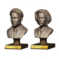 The X-Files Mulder and Scully Bust Bundle