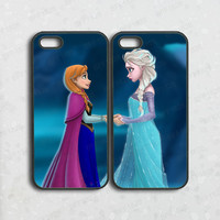 ipod 5 case,iphone 5c case,elsa and anna,frozen, best friend,iphone 5s case,iphone 4s,iphone 4 case,ipod 4 case,cute iphone 5 case