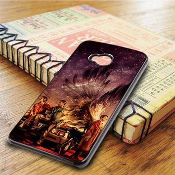 Supernatural Painting Art Horror Tv Series HTC One M7 Case