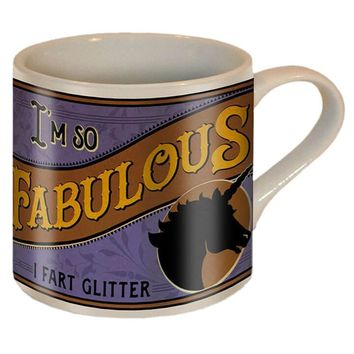 """Fabulous"" Coffee Mug by Trixie & Milo"