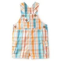 Kitestrings Baby-boys Newborn Plaid Shortall $34.00