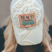 Beach Hippie Lace Baseball Hat
