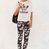 Orchid Legging- Black Multi