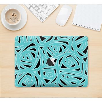 "The Vector Subtle Blues Pattern Skin Kit for the 12"" Apple MacBook"