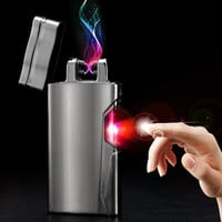 THE FUTURE IS HERE MARTY!!! Pulsed Arc Lighter/ USB Rechargeable