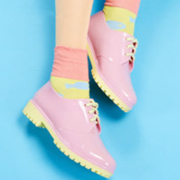 Jelly Rain shoes from Kokopie