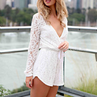 VALENTINA LACE PLAYSUIT , DRESSES, TOPS, BOTTOMS, JACKETS & JUMPERS, ACCESSORIES, 50% OFF SALE, PRE ORDER, NEW ARRIVALS, PLAYSUIT, GIFT VOUCHER, Australia, Queensland, Brisbane