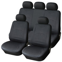 Furnistar 9-Piece Luxury Leatherette Car Vehicle Protective Seat Covers CV0153
