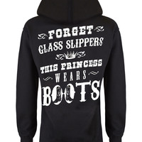 Hoodie: This Princess Wears Boots