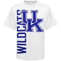Kentucky Wildcats Go Large T-Shirt - White