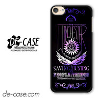 Supernatural Winchester DEAL-10382 Apple Phonecase Cover For Ipod Touch 6