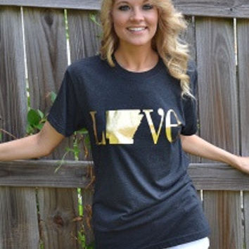 Charlie Southern Classic State Love Tee - Arkansas