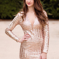 Star Of The Show Sequin Dress