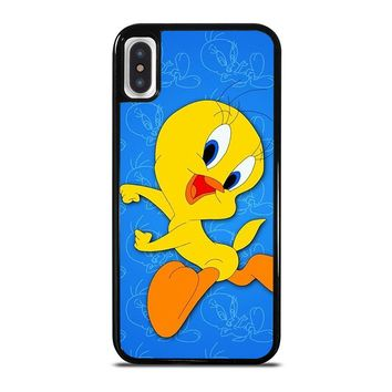 TWEETY BIRD LOONEY TUNES HAPPY iPhone X Case Cover