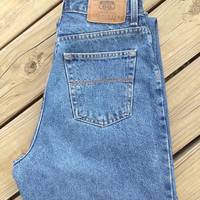 DIY High Waisted Jeans Size 7/8